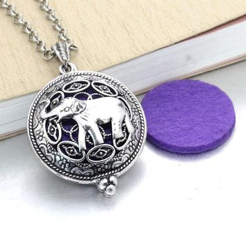 Womens Aroma Diffuser Necklace - Vintage Style Lockets - Free Shipping