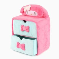 My Melody Plush 2-Tier Drawers: Blue