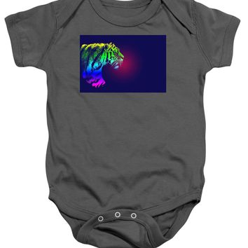 Tiger Poster - Baby Onesuit