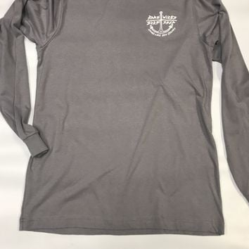 Bare Wires Long Sleeve Gray