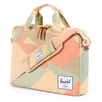 Herschel Supply Co.: Hudson Messenger Bag - Natural Portal
