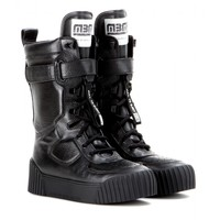marc by marc jacobs - leather platform boots
