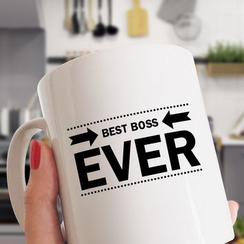 Best Boss Ever Funny Office Coffee Mug