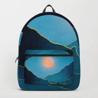 Surreal sunset 03 Backpack by marcogonzalez