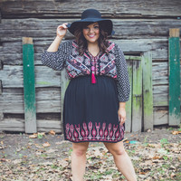 PLUS SIZE: Hope Floats Dress
