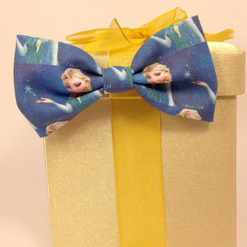 Disney Frozen Handmade Hair Bow