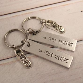 Sole Sisters - Running Buddy Keychain Set - #FF *OS*