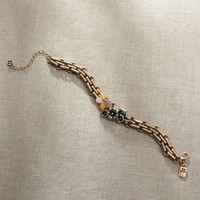 Enesco JS Collection Jim Shore Bracelet - Floral Chain Bracelet - Item   4047639