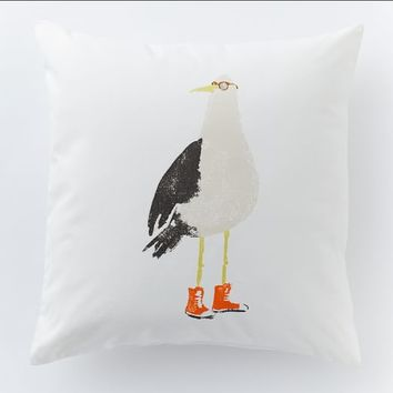 Sammy the Seagull Pillow
