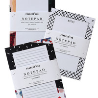 3 Notepad Set