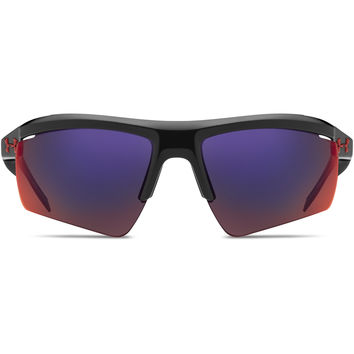 Under Armour Core 2.0 Sunglasses Shiny Black /Infrared