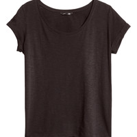 H&M - Top in Slub Jersey