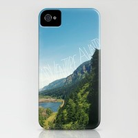 Adventure Awaits iPhone Case by Leah Flores | Society6