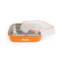 Thinkbaby Bpa Free Bento Box Orange