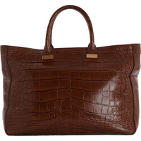 Alligator Day Luxe Tote