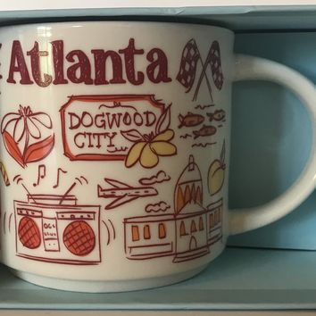 Starbucks Been There Series Collection Atlanta Georgia Coffee Mug New With Box