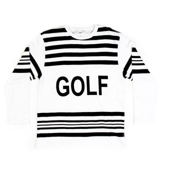 GOLF WANG HOCKEY JERSEY WHITE – Odd Future