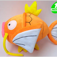"Japanese Anime Pokemon Plush Toy 12"" Magikarp Plush Doll Soft Stuffed Animals Toy For Cosplay Free Shipping"