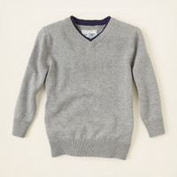 baby boy - sweaters - v-neck sweater | Children's Clothing | Kids Clothes | The Children's Place