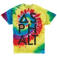 Asphalt Yacht Club Reactive Rainbow Knockout T-Shirt - Men's at CCS