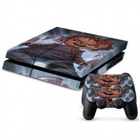 Decal Skin Stickers For Playstation 4 PS4 Console + 2 Pcs Stickers For PS4 Controller = 1930016004