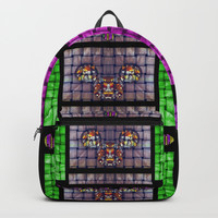 This is a cartoon circle mouse Backpack by Pepita Selles