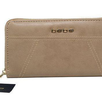 Bebe Evelyn Zip Around Wallet