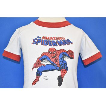 70s The Amazing Spider-Man Ringer t-shirt Toddler 2T