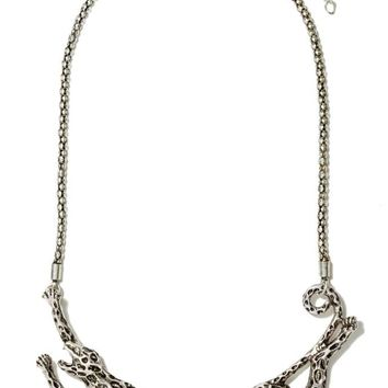 Animal Instincts Collar Necklace