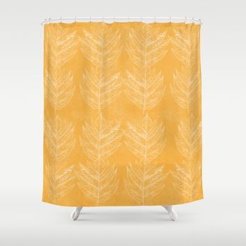 leaf 2 Shower Curtain by anipani