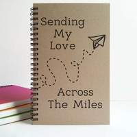 Sending my love across the miles, long distance relationship