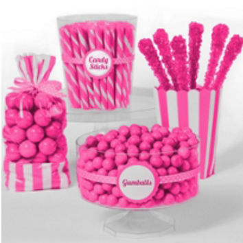 Bright Pink Candy Buffet- Party City
