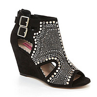 Betsey Johnson Dazzzler Wedge Booties