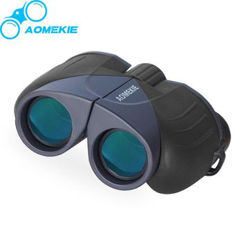 Compact 10X25 Binoculars HD Wide Angle Viewing Optical Glass Prism Full Coated Lens