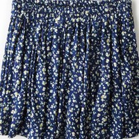 AEO 's Don't Ask Why Pleated Circle Skirt