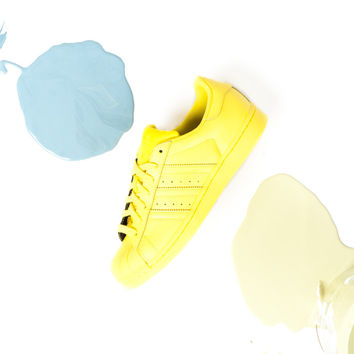 Pharrell Williams x adidas Superstar Supercolor Pack - Bright Yellow