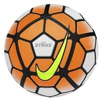 Nike 'Strike' Soccer Ball, Size 4 - White