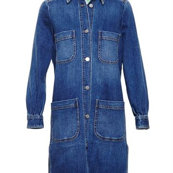 STELLA MCCARTNEY | Denim Dress | brownsfashion.com | The Finest Edit of Luxury Fashion | Clothes, Shoes, Bags and Accessories for Men & Women