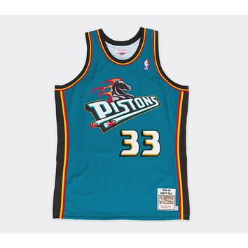 Mitchell & Ness Grant Hill 1998-99 Authentic Jersey Detroit Pistons