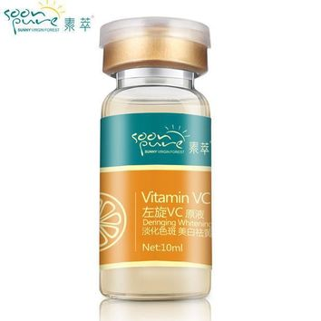 Soonpure Vitamin C Serum Whitening Cream Skin Tightening Dark Spot Removal Freckle Speckle Skin Bleaching Face Treatment