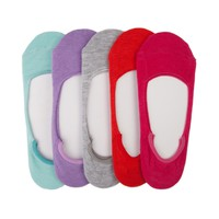Womens Soft Color Liners 5-pack
