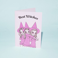 Best Witches Greeting Card