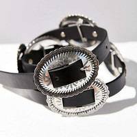 Metal Western Belt | Urban Outfitters