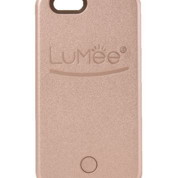 iPhone 6 LuMee Case Rose Gold (Pre-Order Ships 11/20/15)