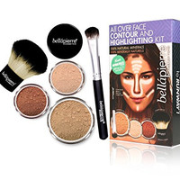 BellaPierre All Over Face Contour and Highlighting Kit - Dark