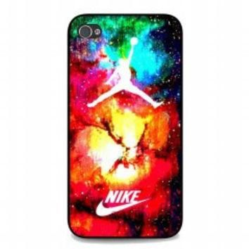 jordan nike galaxy for iphone 4 and 4s case