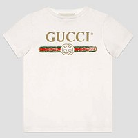 Gucci Girls Boys Children Baby Toddler Kids Child Fashion Casual Shirt Top Tee