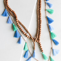 Capri Tassel Necklace