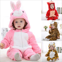 Unisex New Born Baby Clothes Animal Shapes Toddler Costume