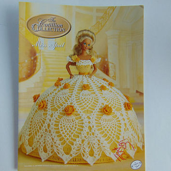 The Cotillion Collection Miss April Pattern Society Fashion Barbie Doll Crochet Pattern Annies Attic